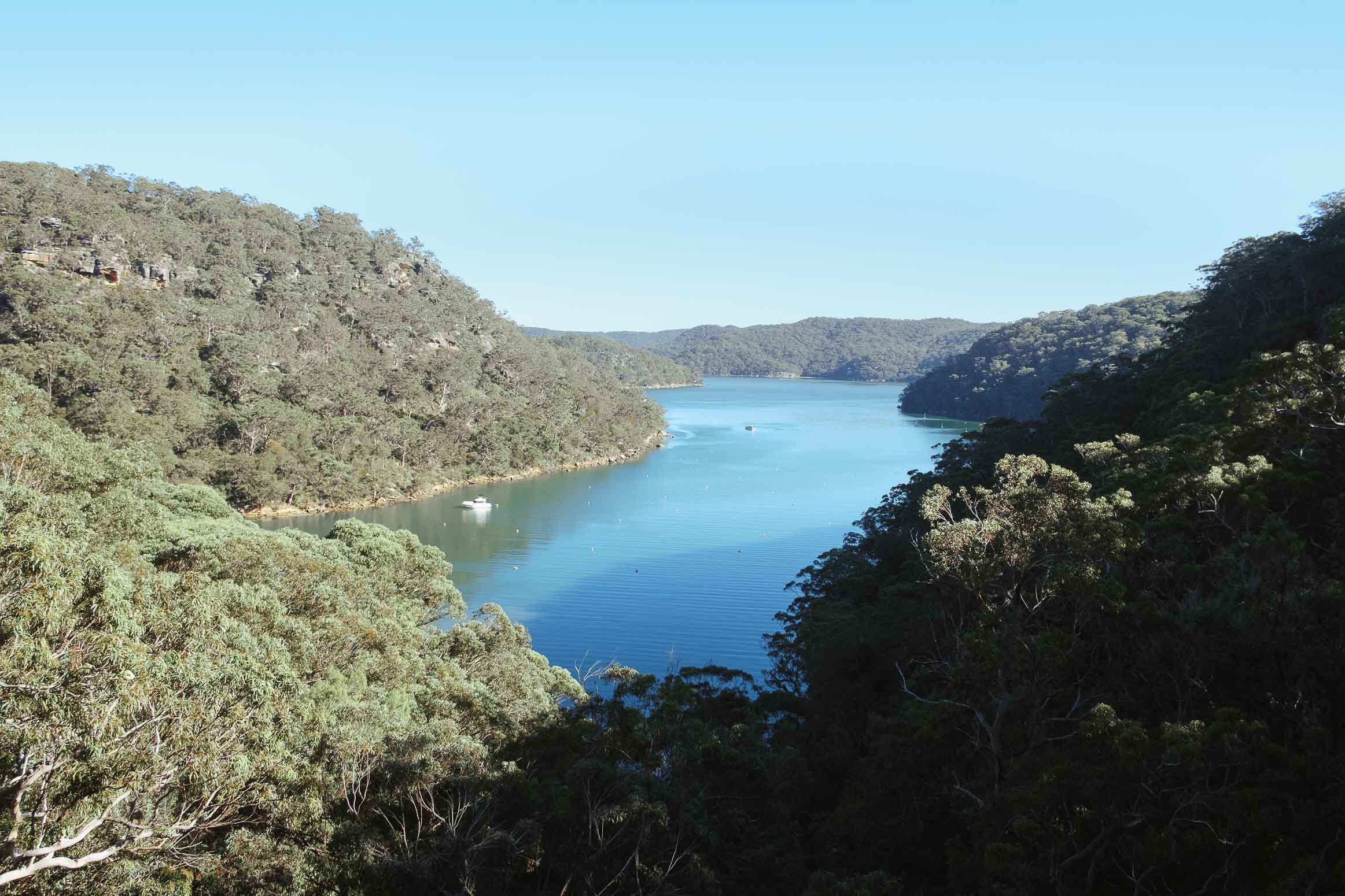 Photo of America Bay Lookout, in Kuringai Chase National Park