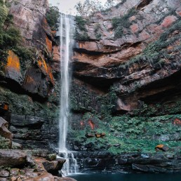 Panoramic Photograph of Belmore Falls waterfall